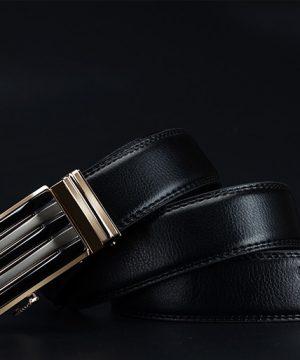Kožený pánsky opasok z pravej kože - model 30