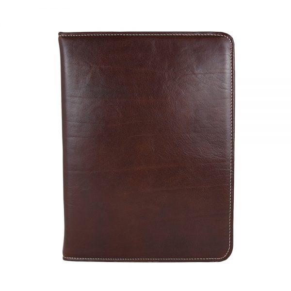Pánska kožená spisovka č.7673 v hnedej farbe