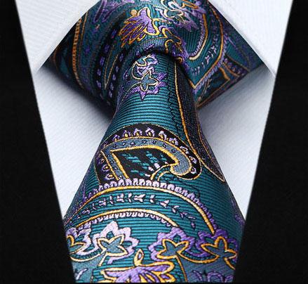 Pánska kravatová sada - kravata + vreckovka, č.1