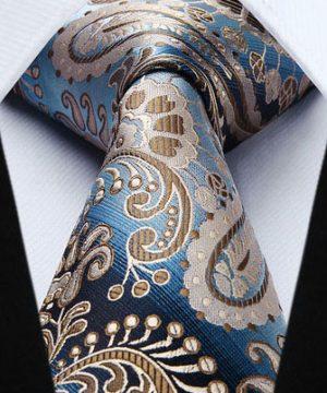Pánska kravatová sada - kravata + vreckovka, č.3