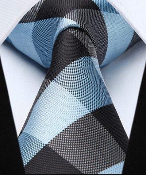 Pánska kravatová sada - kravata + vreckovka, č.4