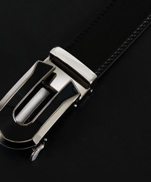 Pánsky kožený opasok z pravej kože - model 15