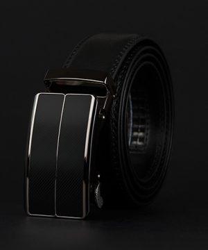 Luxusný pánsky opasok z pravej hovädzej kože - model 02