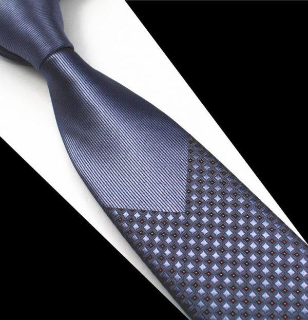 Pánska spoločenská kravata v modrej farbe
