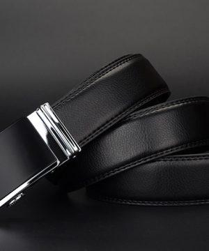 Luxusný pánsky opasok z pravej hovädzej kože - model 01