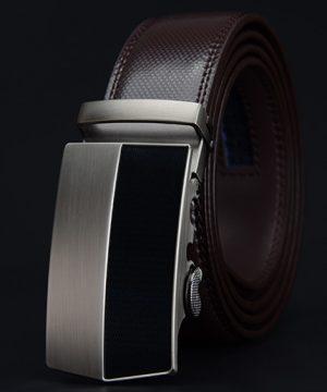 Pánsky kožený opasok z pravej kože - model 32