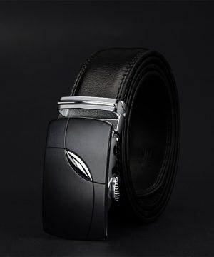 Luxusný pánsky opasok z pravej hovädzej kože - model 03