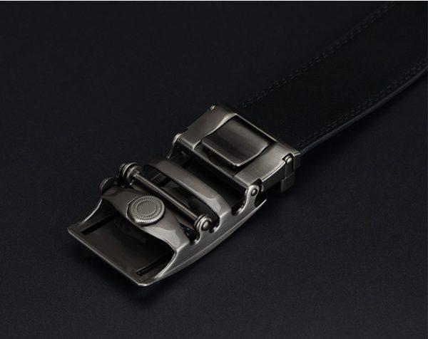 Luxusný pánsky opasok z pravej hovädzej kože - model 04