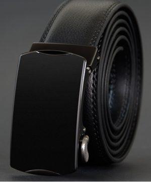 Luxusný pánsky opasok z pravej hovädzej kože - model 09
