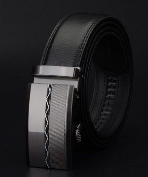 Luxusný pánsky opasok z pravej hovädzej kože - model 10