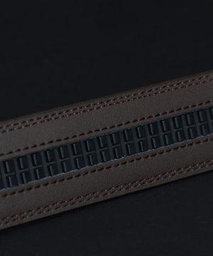 Luxusný pánsky opasok z pravej hovädzej kože - model 07