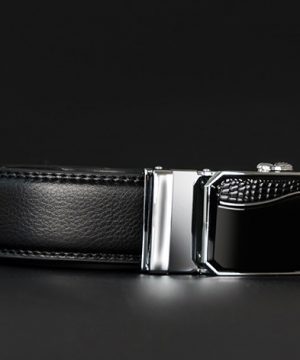 Luxusný pánsky opasok z pravej hovädzej kože - model 05