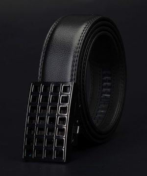 Luxusný pánsky opasok z pravej hovädzej kože - model 11