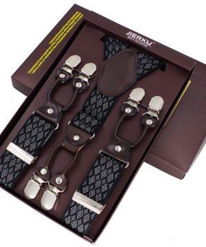 Kožené-pánske-traky-v-elegantnom-štýle-s-čiernym-dekorom
