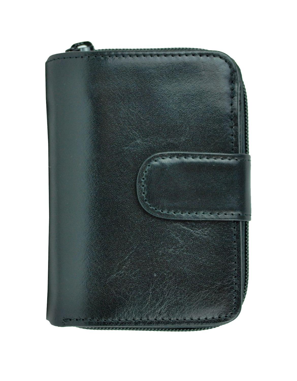 Pánska kožená peňaženka č.8148 v čiernej farbe fb371f43b9f