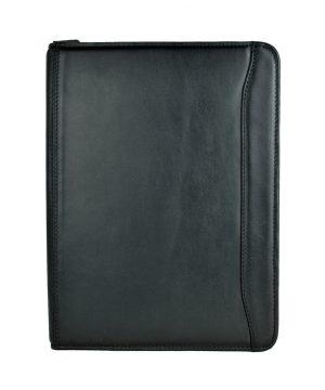 Pánska luxusná kožená spisovka č.7987 v čiernej farbe