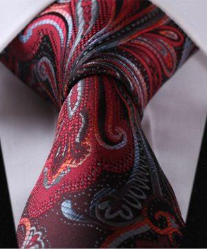 Luxusná pánska kravatová sada - kravata + vreckovka, vzor 09