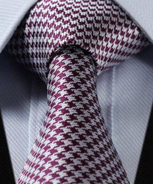 Luxusná pánska kravatová sada - kravata + vreckovka, vzor 01