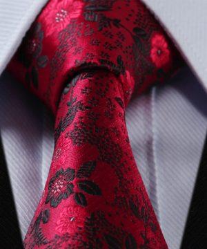 Luxusná pánska kravatová sada - kravata + vreckovka, vzor 04