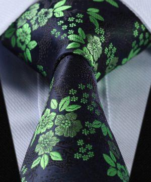 Luxusná pánska kravatová sada - kravata + vreckovka, vzor 10