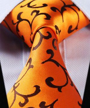 Luxusná pánska kravatová sada - kravata + vreckovka, vzor 12