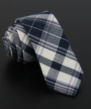 Bavlnená pánska kravata v luxusnom dizajne - vzor 01