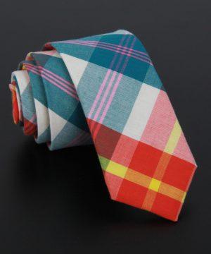 Bavlnená pánska kravata v luxusnom dizajne - vzor 02