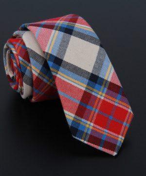 Bavlnená pánska kravata v luxusnom dizajne - vzor 09