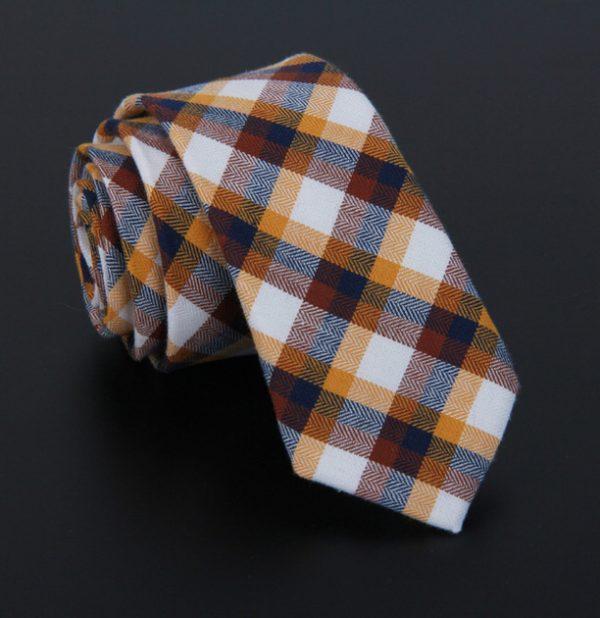 Bavlnená pánska kravata v luxusnom dizajne - vzor 06