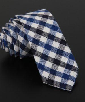 Bavlnená pánska kravata v luxusnom dizajne - vzor 07