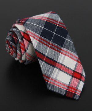 Bavlnená pánska kravata v luxusnom dizajne - vzor 08