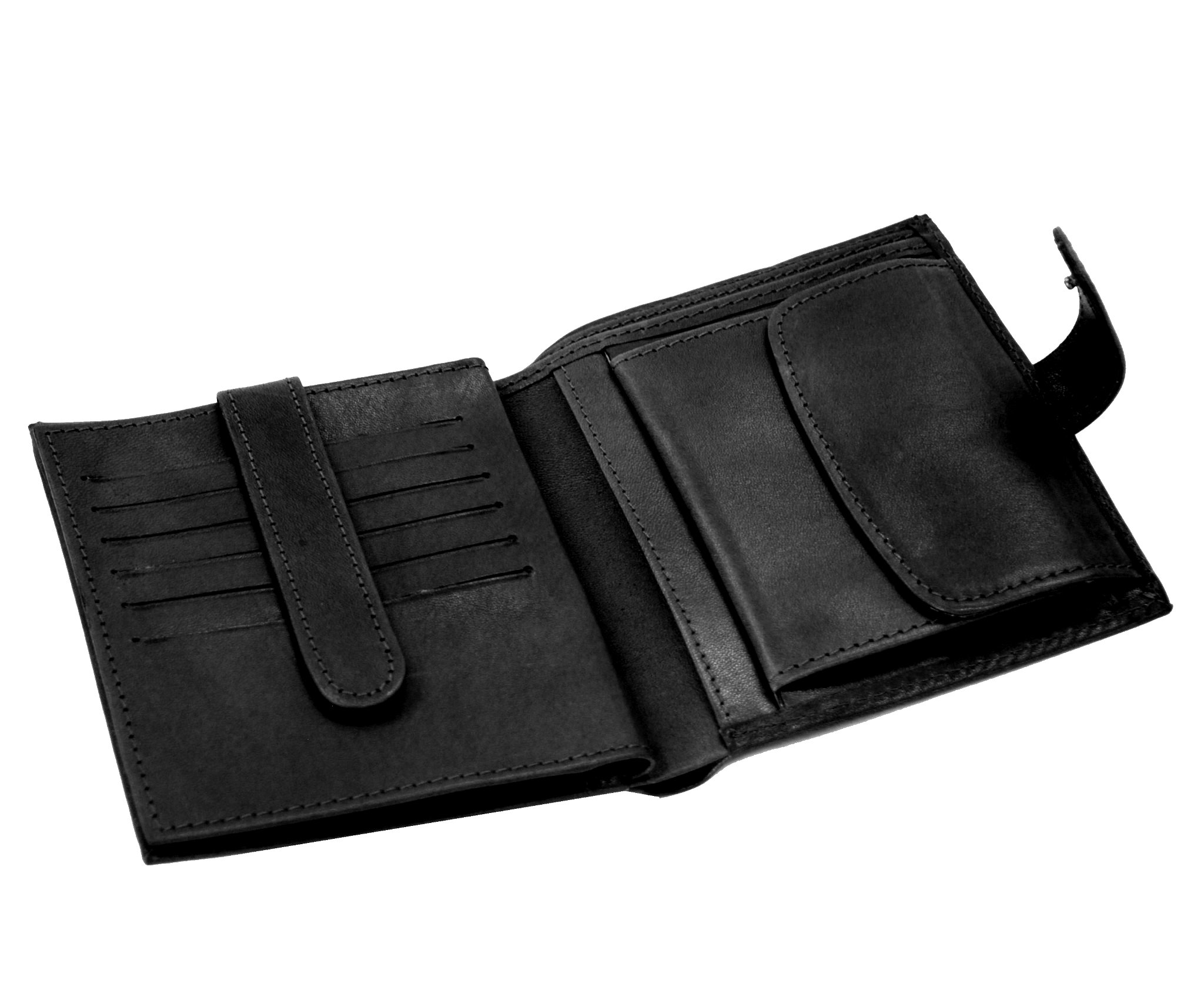Pánska exkluzívna kožená peňaženka č.8333 v čiernej farbe 2515d5fd292