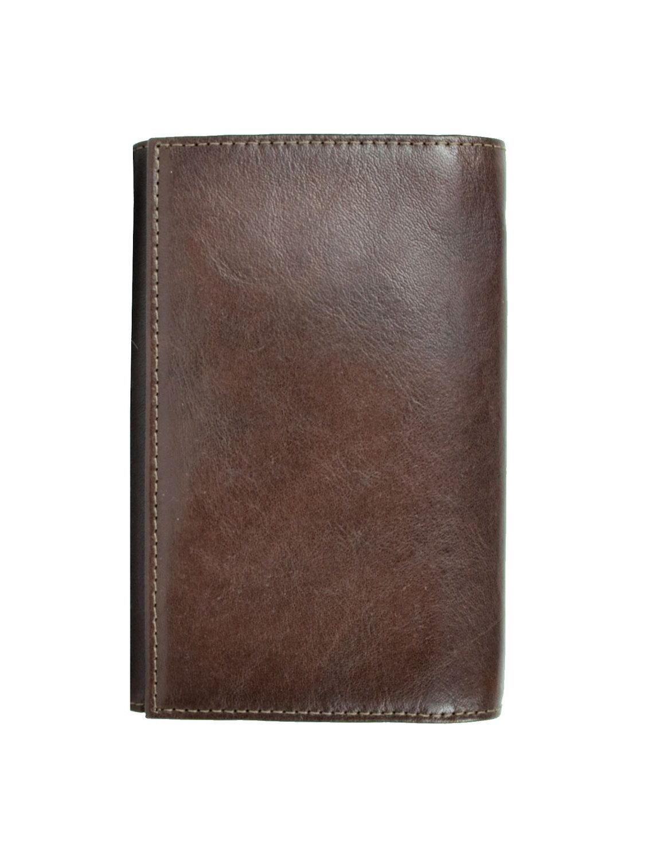Pánska luxusná kožená peňaženka č.8542 v tmavo hnedej farbe (2) ef0822eae63