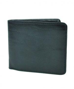 Pánska peňaženka z prírodnej kože č.7992 v čiernej farbe (2)