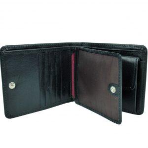 Produkt sa už nachádza v zozname želaní Prezerať zoznam želaní · Pánska  peňaženka z prírodnej kože č.7992 v čiernej farbe ... 63a5708f9be