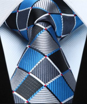 Pánska kravatová sada - kravata + vreckovka, č.6
