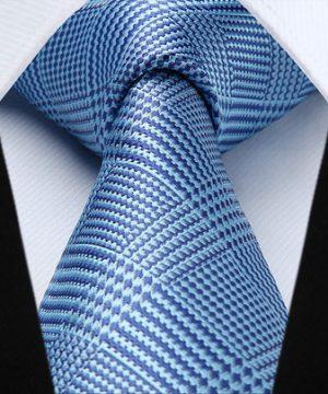 Pánska kravatová sada - kravata + vreckovka, č.7