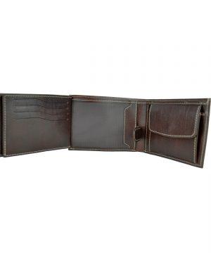 5a87c7cf76 Produkt sa už nachádza v zozname želaní Prezerať zoznam želaní · Elegantná  peňaženka z pravej kože č.8552 v tmavo hnedej farbe ...