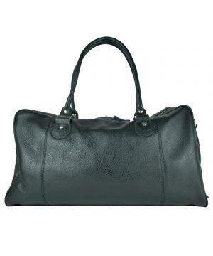 Pánska kožená cestovná kabela č.8685 v čiernej farbe. Vzhľadom k elegancii a nízkej hmotnosti môžetetašky nosiť ajcez ramenoalebo akopríručnú batožinu (2)