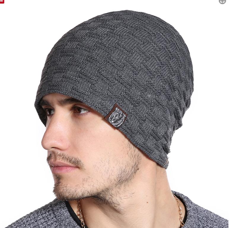 Bavlnená zimná pánska čiapka s kožušinou v niekoľkých farbách 863cc92ad60