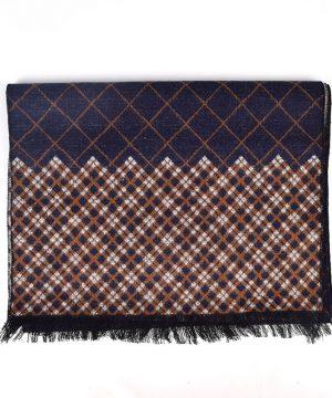 Kvalitný pánsky šál z hodvábu a viskózy v rôznych farbách ( 180 x 30 cm )