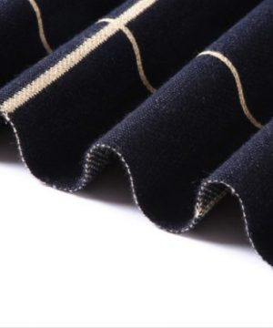 Kvalitný pánsky šál z vlny a bavlny ( 180 x 30 cm ) - Vzor 08