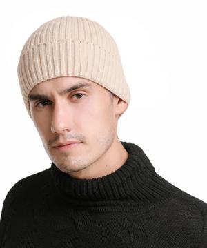 Kvalitná bavlnená pánska čiapka na zimu v niekoľkých farbách