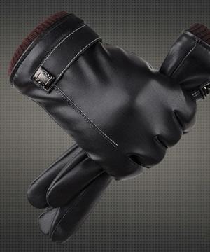 Kvalitné kožené pánske rukavice so zimnou výstelkou z flisu
