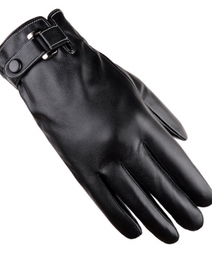 Luxusné kožené pánske rukavice so zimnou výstelkou v dvoch farbách