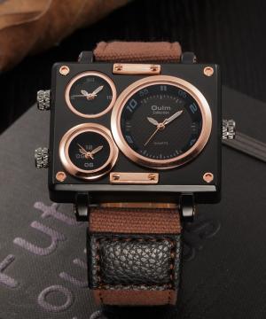 Prepracované retro analógové pánske hodinky v troch prevedeniach