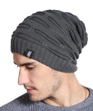 Zimná bavlnená pánska čiapka v modernom prevedení a niekoľkých farbách