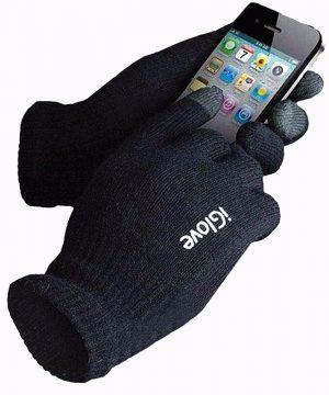 Značkové pánske rukavice s možnosťou ovládať mobilný telefón