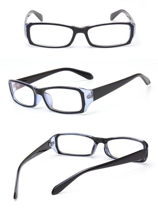 Ľahčené pánske okuliare počítač z odolného tvrdeného plastu a živice