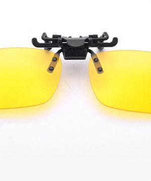Špeciálny polarizovaný clip na okuliare vhodný na nočnú jazdu